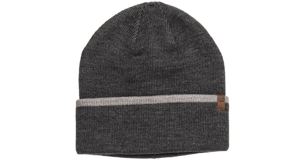 Timberland Gray Stripe Cuff Watch Cap (for Men) for Men Lyst