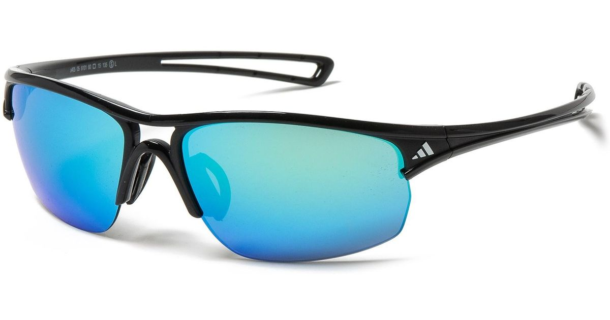 52bac84eb587 adidas A405 Raylor S Sport Sunglasses in Blue for Men - Lyst
