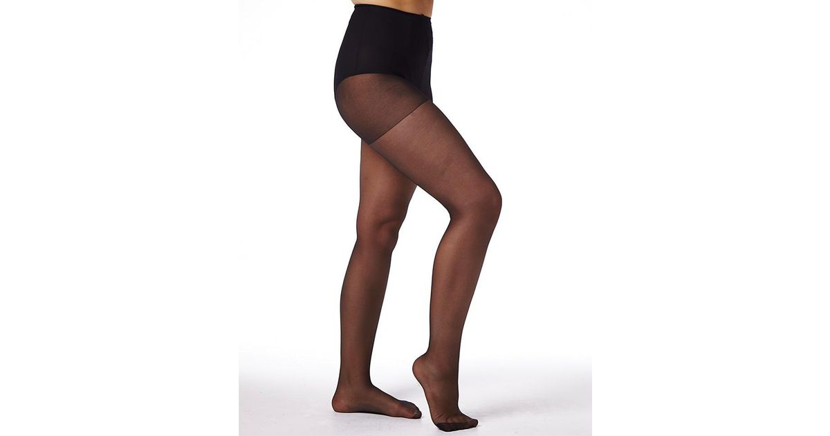 8a9feedc4 Simply Be Naturally Close 6 Pack 15 Denier Ladder Resist Pantyhose in Black  - Lyst