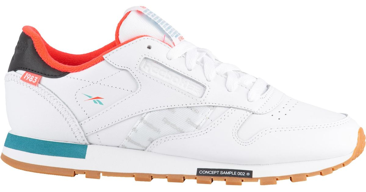 f8a82f42473ce Lyst - Reebok Classic Leather Altered in White for Men reebok classic  leather altered
