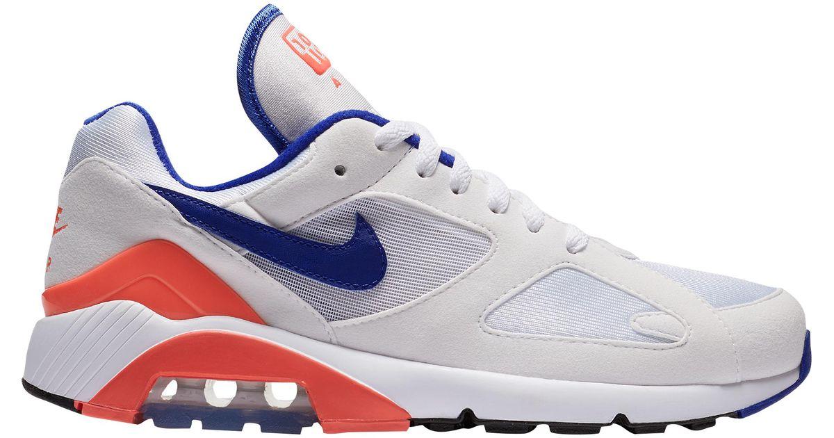 Lyst - Nike Air Max 180 in Blue 92b8accc1