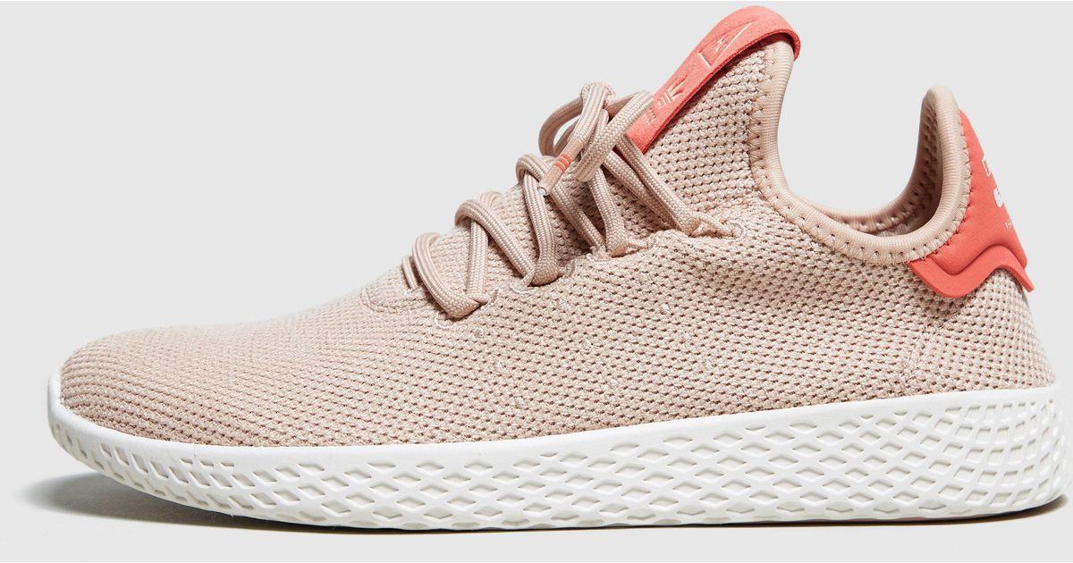 free shipping c4a92 c504d adidas-originals-Brown-X-Pharrell-Williams-Tennis-Hu-Womens.jpeg