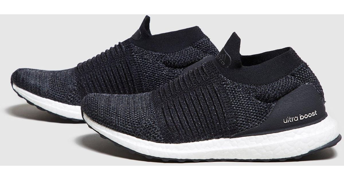 low priced fcee6 72211 Lyst - adidas Ultraboost Laceless Women s in Black