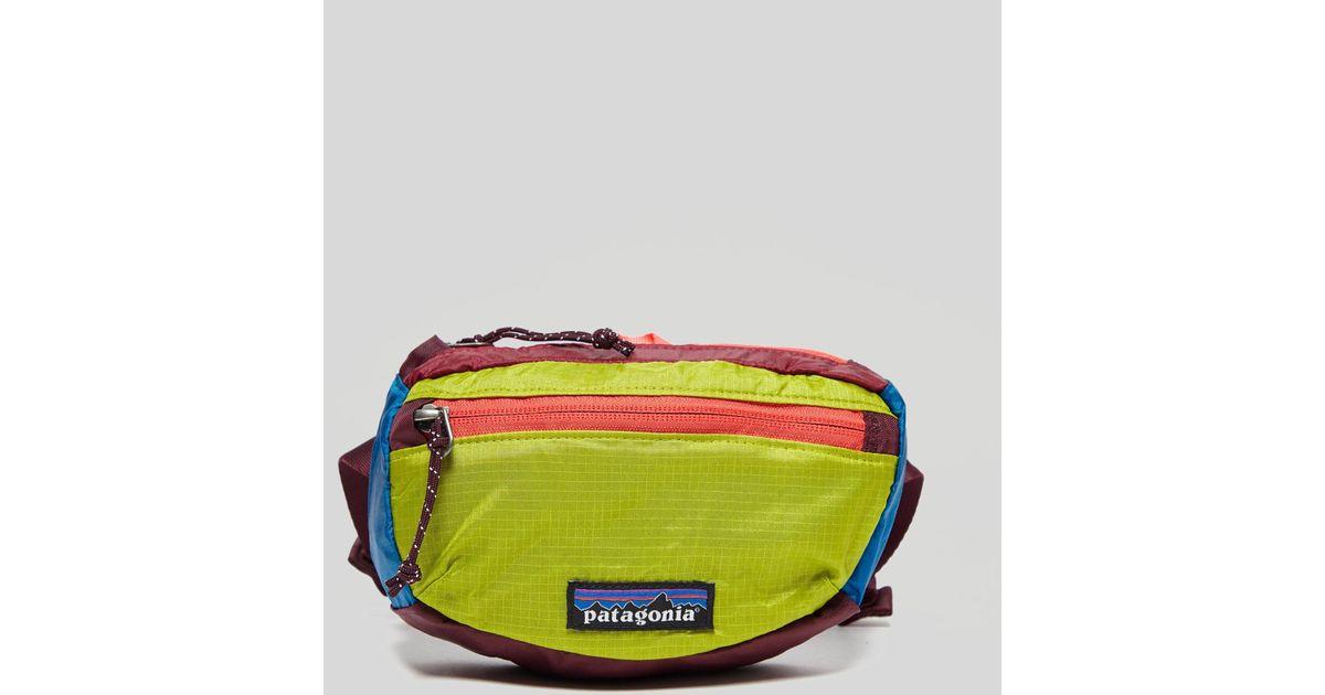 Case Blue Mini Pack : Lyst patagonia mini hip pack in blue for men