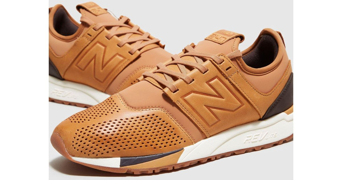 new balance 247 luxe brown