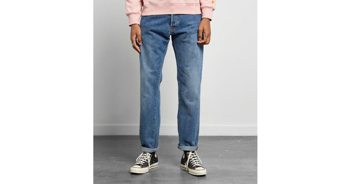 1ac8f4a3 Carhartt WIP Klondike Jeans in Blue for Men - Lyst