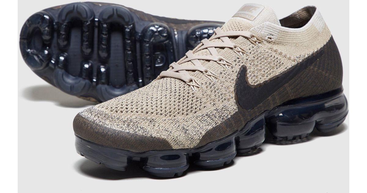 differently 0cf19 a86da Nike Air Vapormax Flyknit in Brown for Men - Lyst