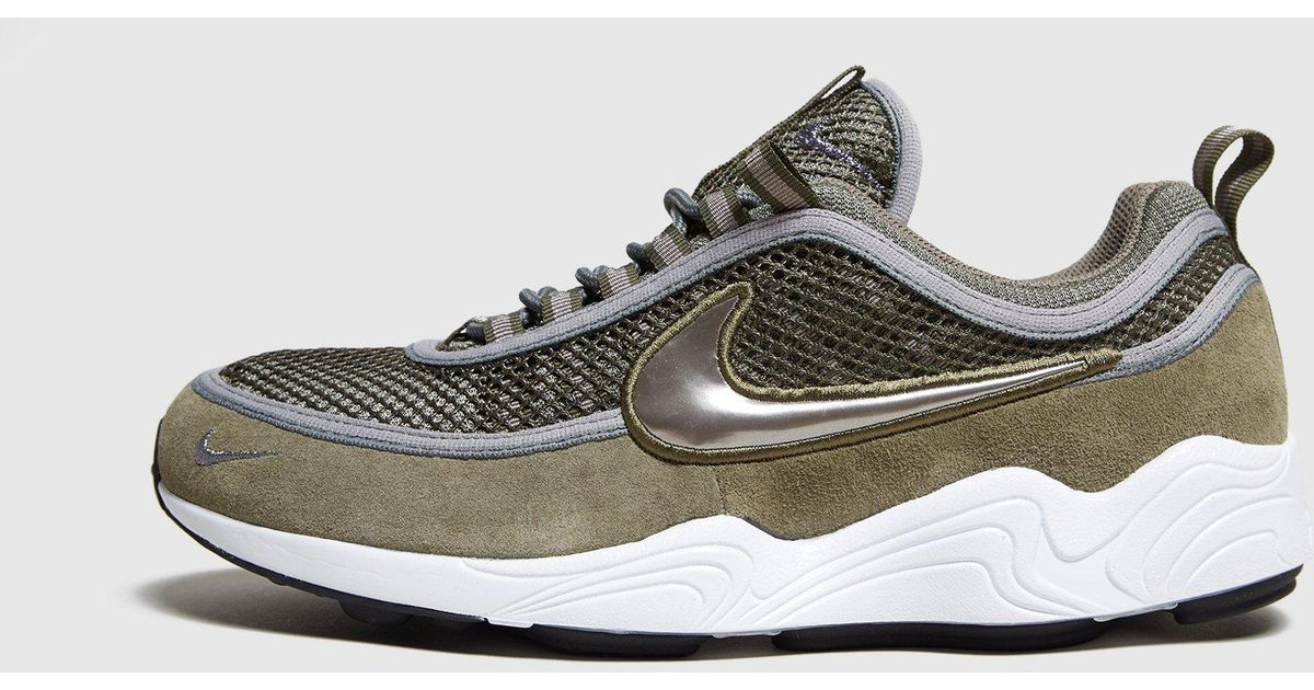1ea0082b4f3d Lyst - Nike Air Zoom Spiridon - Size  Exclusive in Green for Men