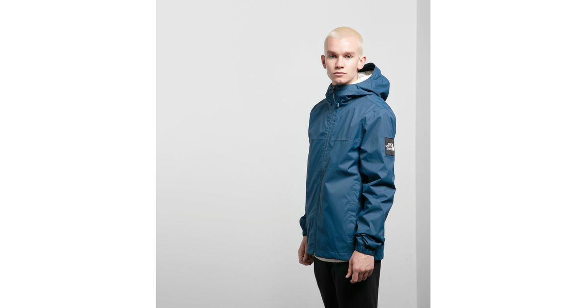 e4af282b8ba The North Face Mountain Quest Jacket in Blue for Men - Lyst
