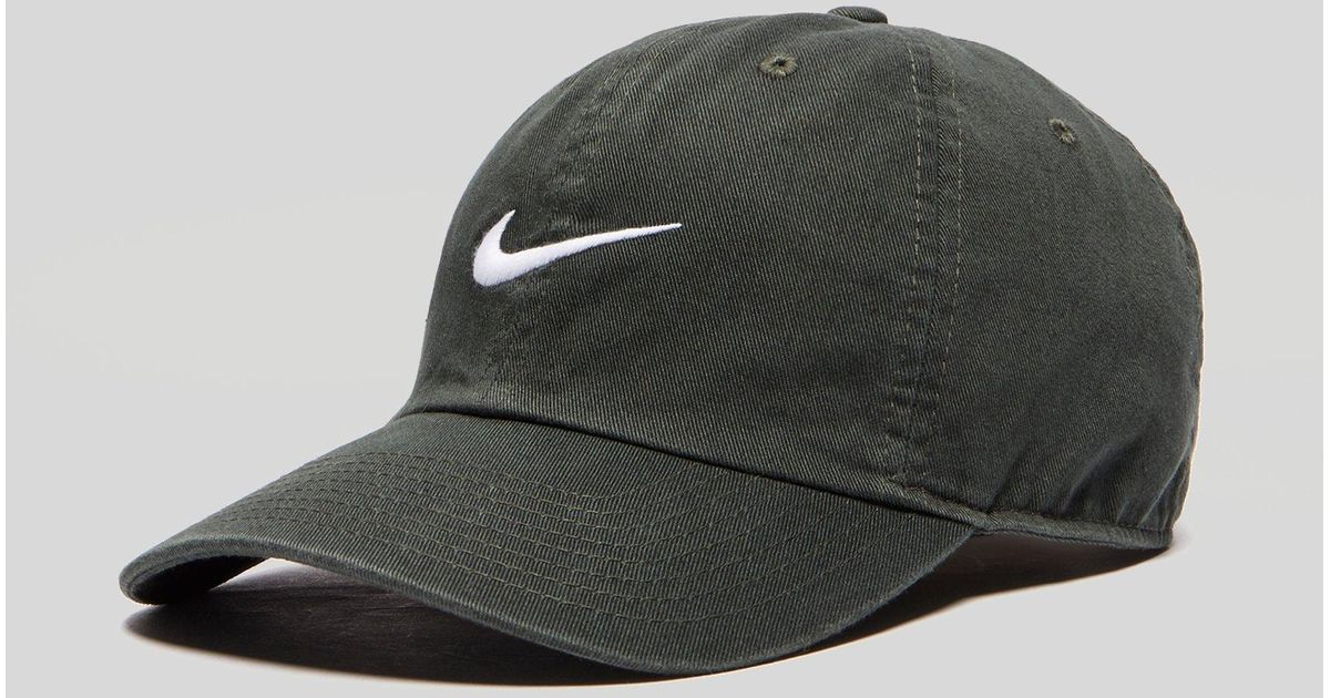 Nike Heritage 86 Swoosh Cap in Green for Men - Lyst 2e63a435732