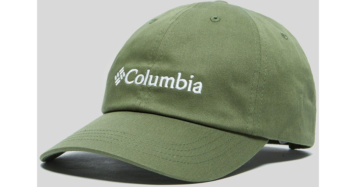 44a1c97b5e7 Columbia Roc Logo Cap in Green for Men - Lyst