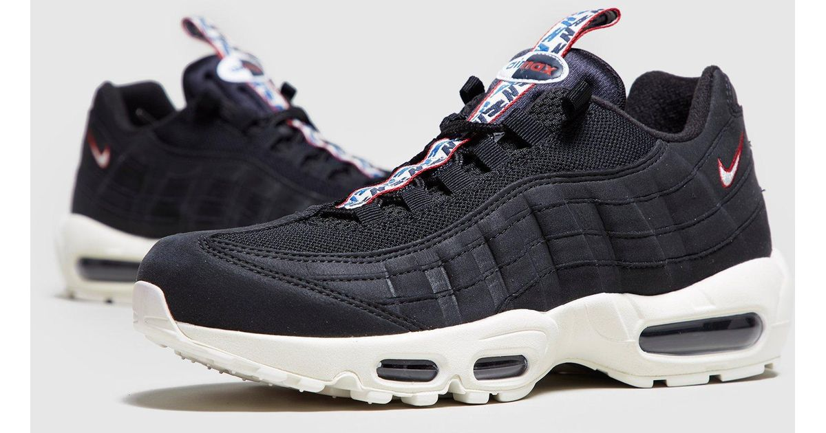 promo code 797ef a8d56 Nike Air Max 95 Tape in Black for Men - Lyst