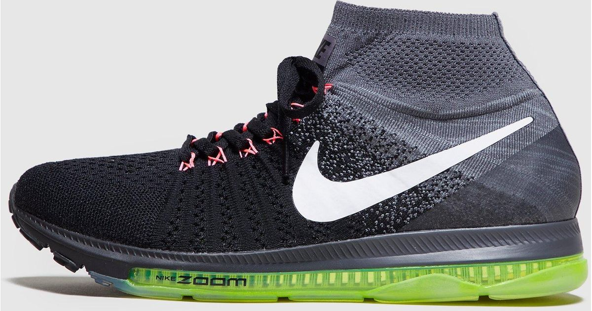 low priced 2cf8c 5970b ... view fullscreen 56b59 dcbe7  spain lyst nike zoom all out womens in  black 44cc2 4f8a1