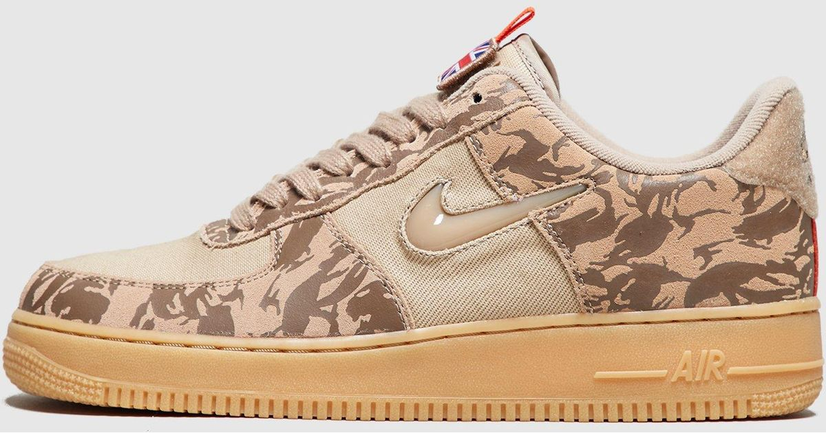 new arrival 4b63c 230b7 Lyst - Nike Air Force 1 Jewel Low Camo uk in Green for Men