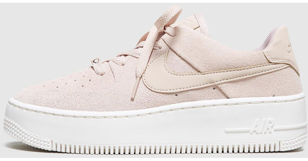 more photos 74d9a 10a70 Nike Air Force 1 Sage Low Women s in Natural - Lyst