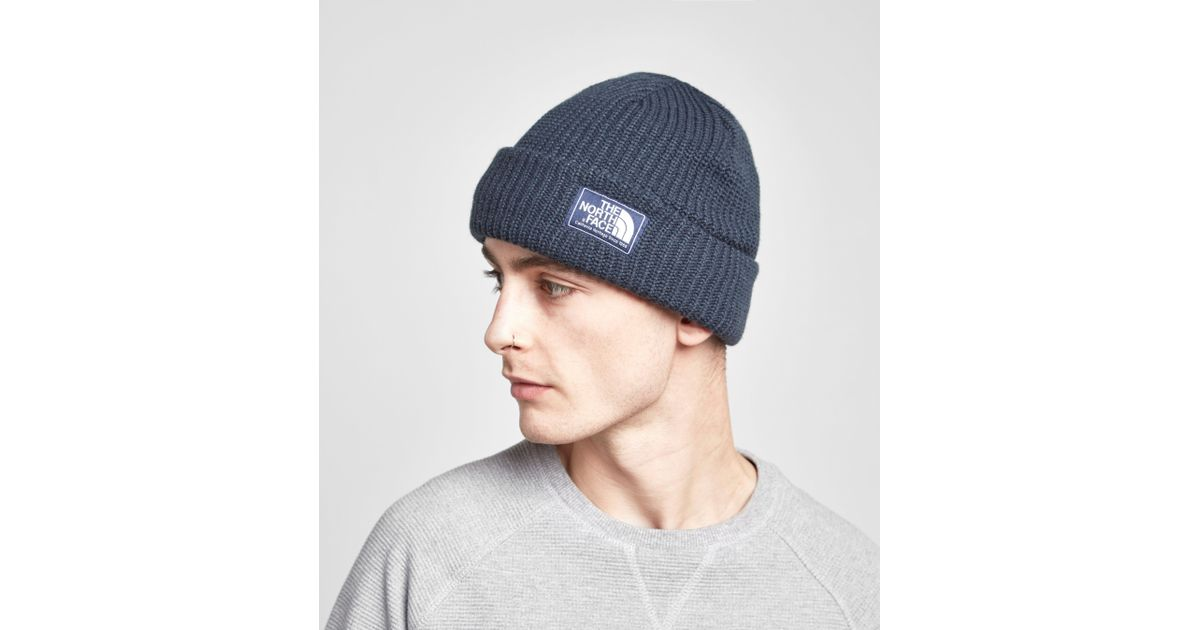 The North Face Salty Dog Beanie G Unisex Hat Navy in Blue for Men - Lyst bf083beed10