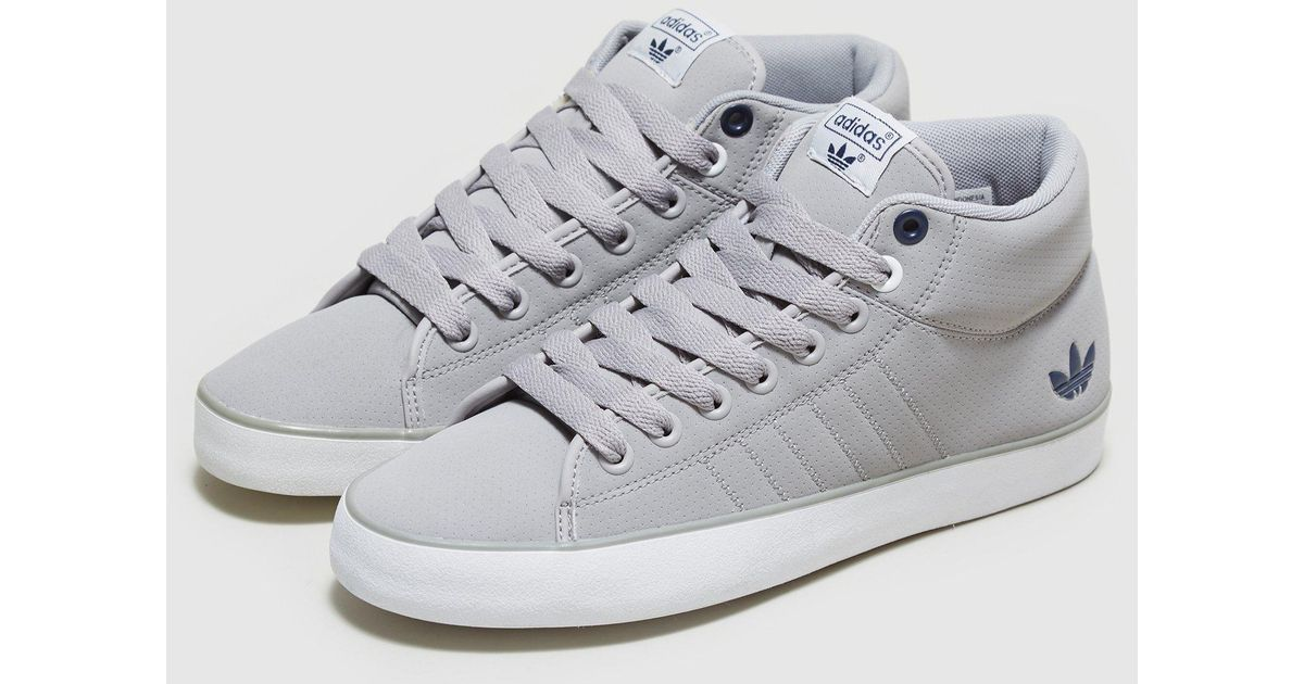 adidas Originals Indoor Tennis Mid in Gray for Men - Lyst 23cf06e20b8