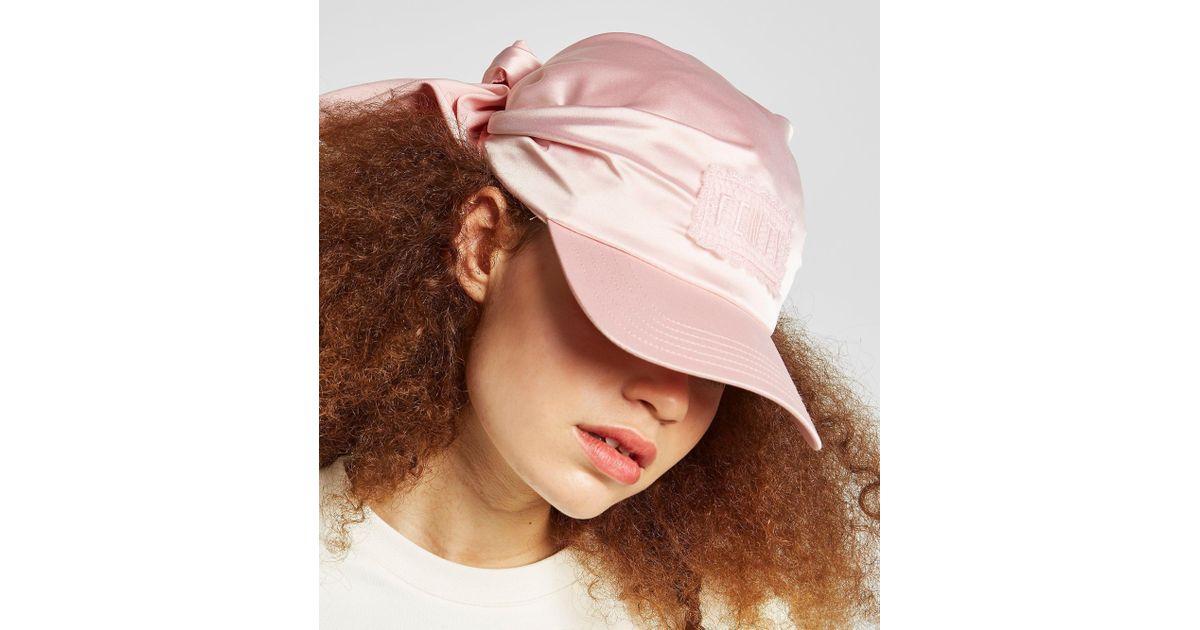 Lyst - PUMA X Fenty Bandana Cap in Pink 9c9ff037256