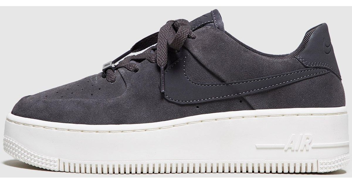 cheap for discount 001c0 98d96 Nike Gray Air Force 1 Sage Low Women's