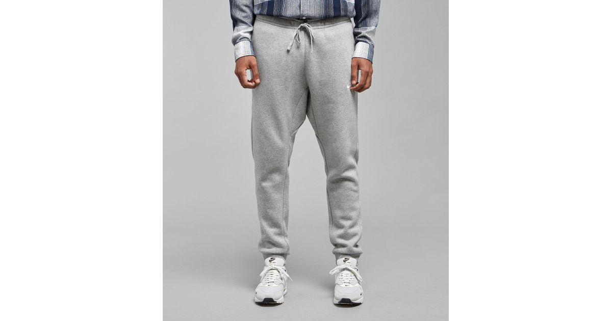 ceb6479098adc Lyst - Nike Foundation Cuffed Fleece Joggers in Gray for Men