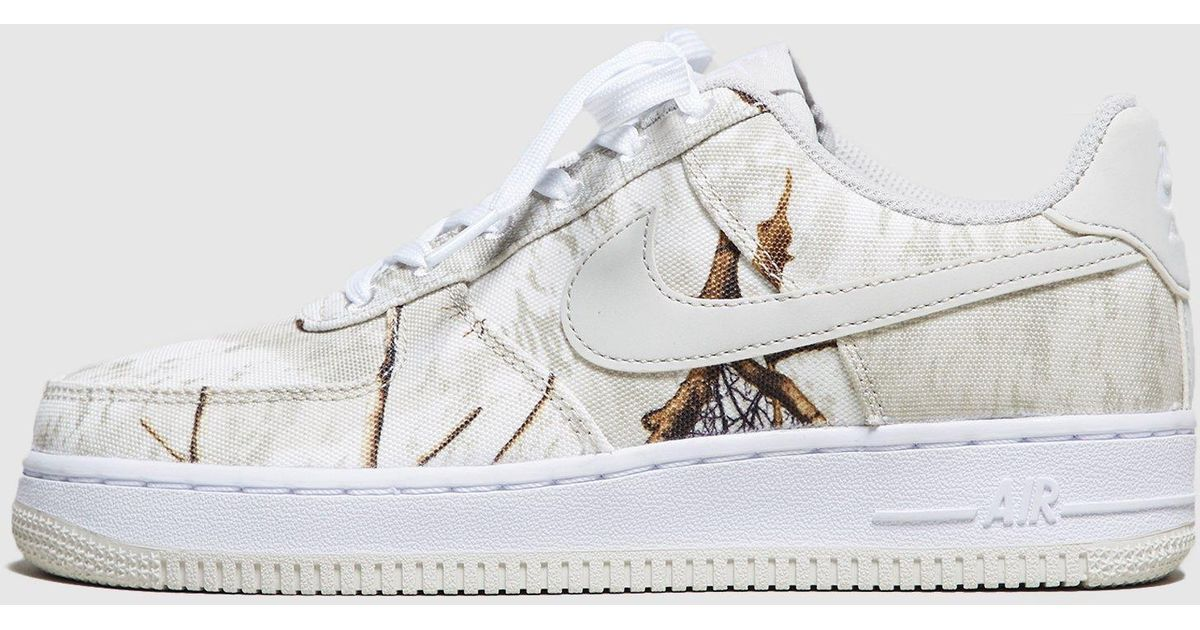 1e3998b5fb Nike Air Force 1 'realtree' Camo Pack Women's in White - Lyst
