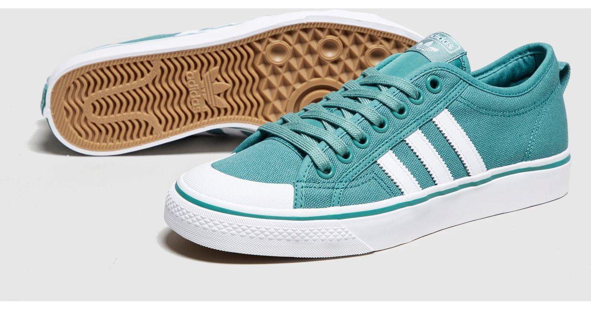 Lyst - adidas Originals Nizza Lo in Green for Men 677ea5992