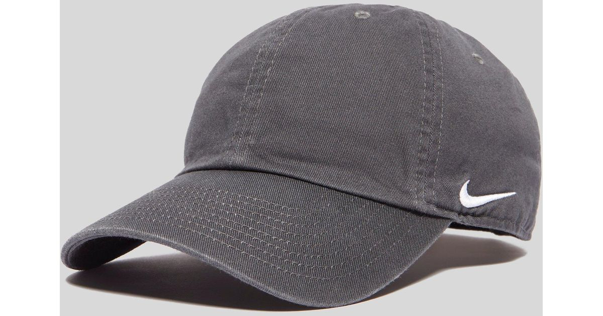 Nike Side Swoosh Cap in Black for Men - Lyst e77418ce1cb
