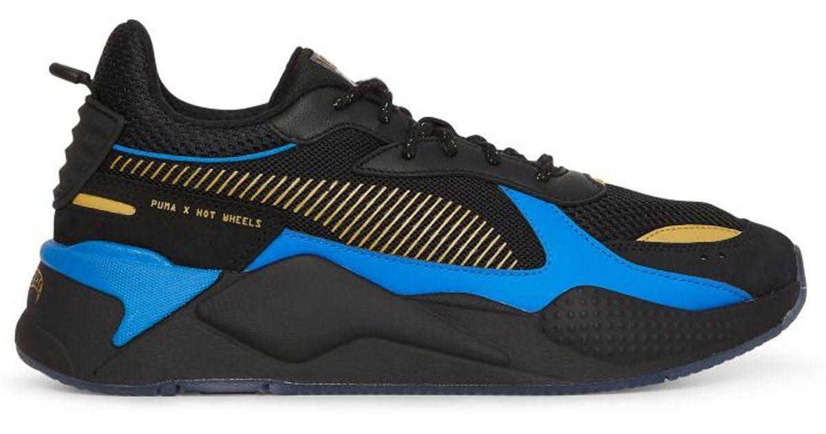 Puma Hot Wheels Rs-x Bone Shaker Sneakers in Blue for Men - Lyst b1e6d05fd