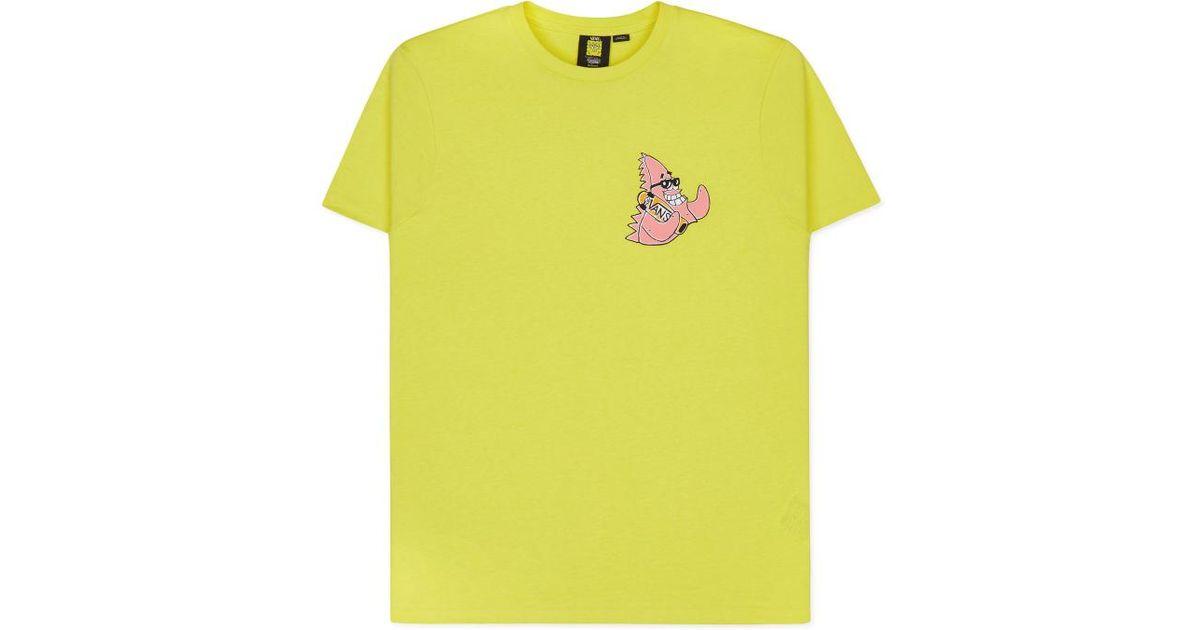 23c2b131ae1 Vans X Spongebob Patrick T-shirt Yellow in Yellow for Men - Lyst