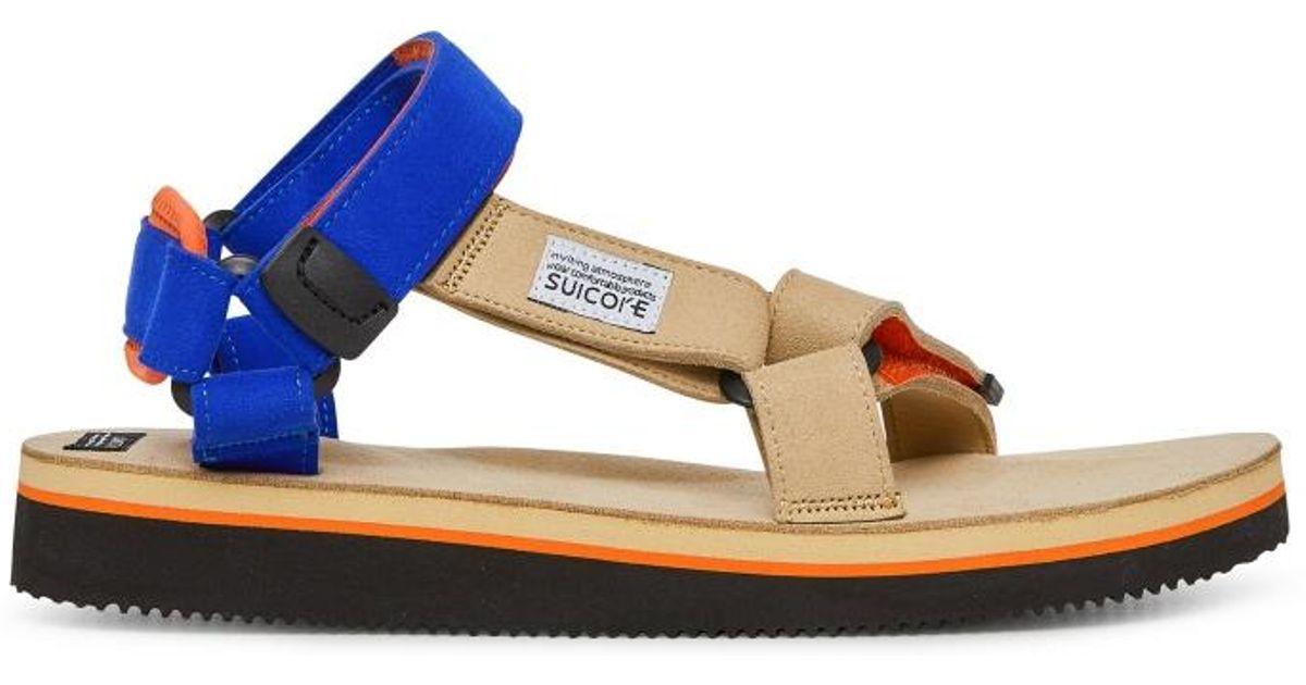 8a7346a06f72 Lyst - Suicoke Depa-ecs Sandals in Blue