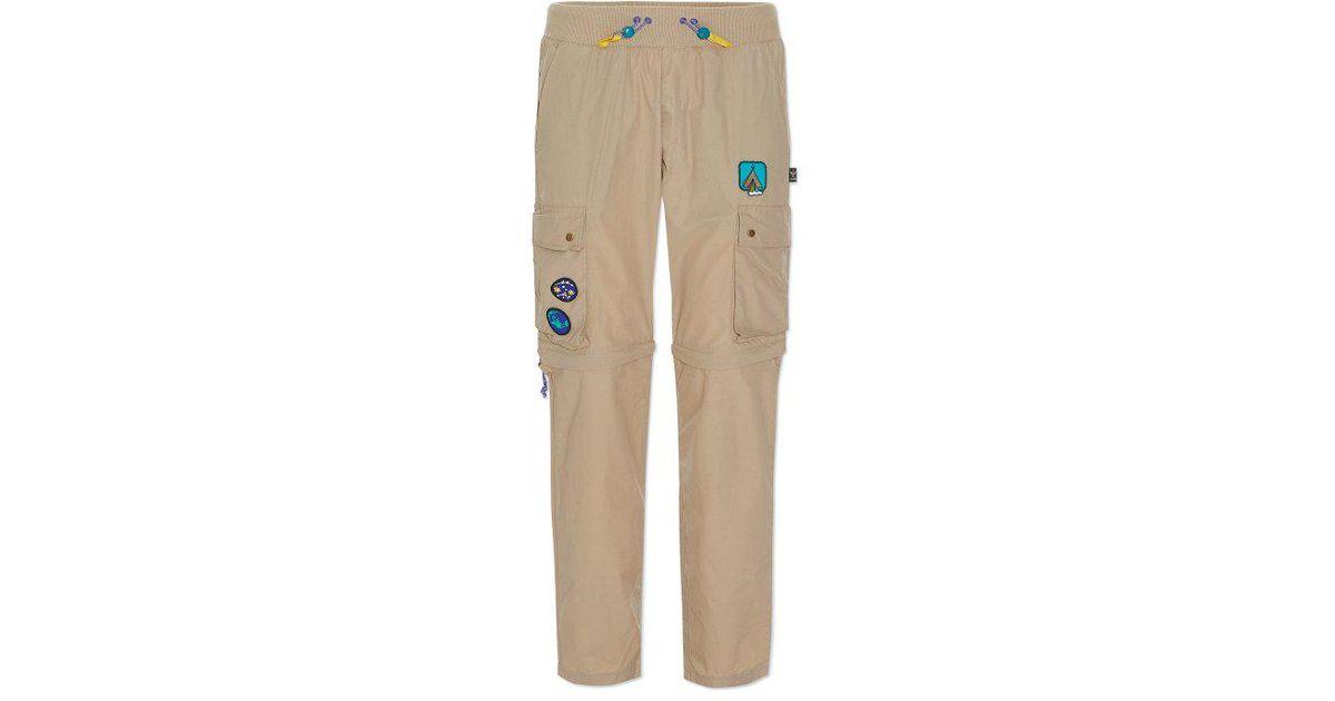 0faea9b1e2ecf Lyst - adidas Originals Pharrell Williams Hu Hiking Cargo Pants in Natural  for Men