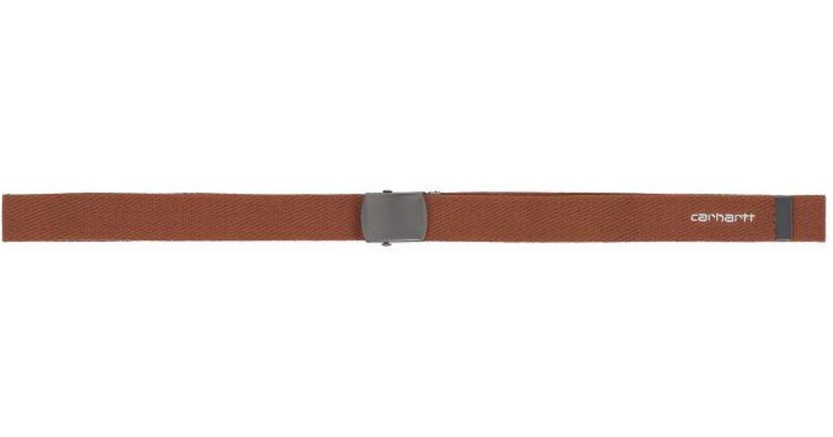 057a34a6 Carhartt WIP Orbit Belt (6 Minimum) Hamilton Brown / White for Men - Lyst