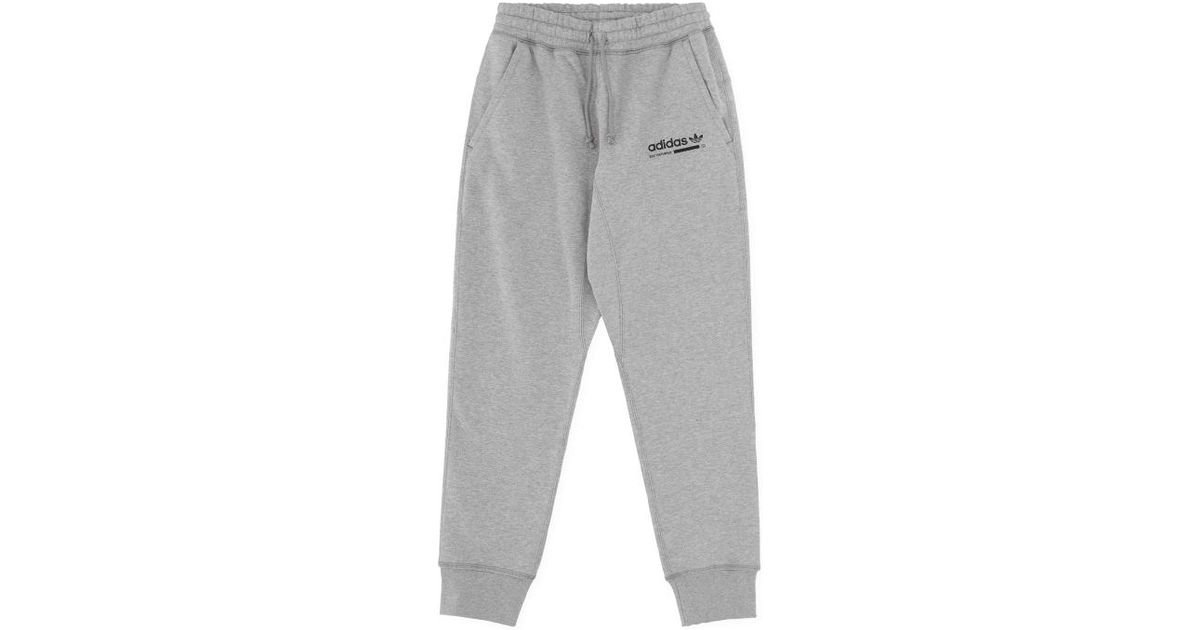 a37873514 Adidas Originals Kaval Sweatpants in Gray for Men - Lyst