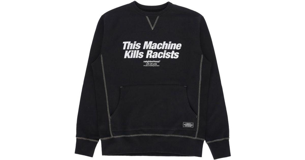 Lyst - Neighborhood B.c. Crewneck Sweatshirt in Black for Men 14dd06d5d6