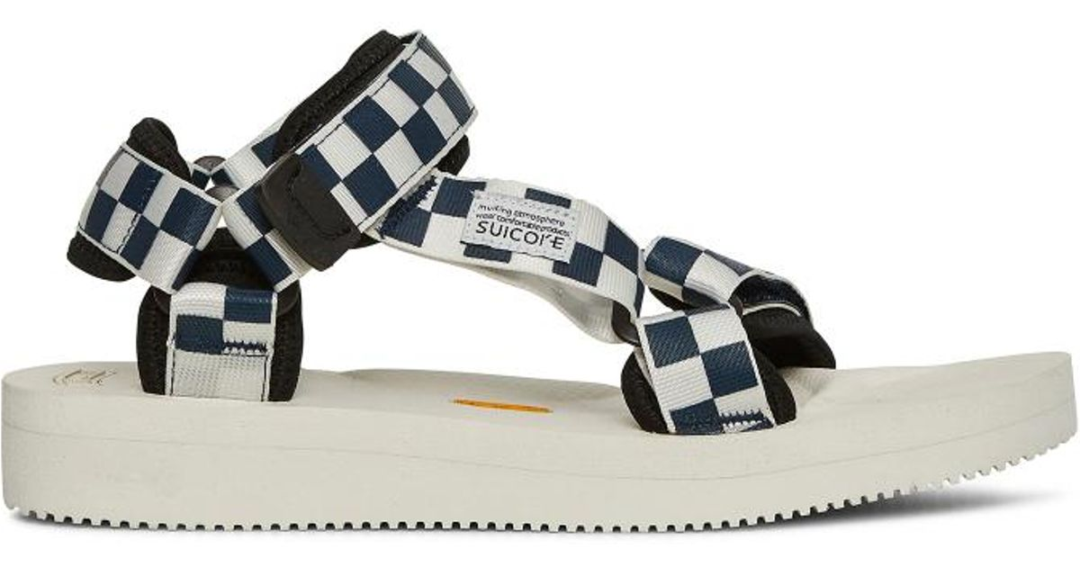 ca1f17d1a0a527 Suicoke Depa V-2 Checkerboard Sandals - Lyst