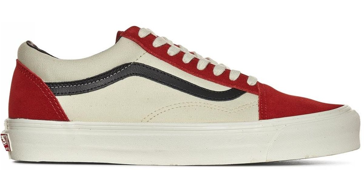 vans old skool lx red dahlia