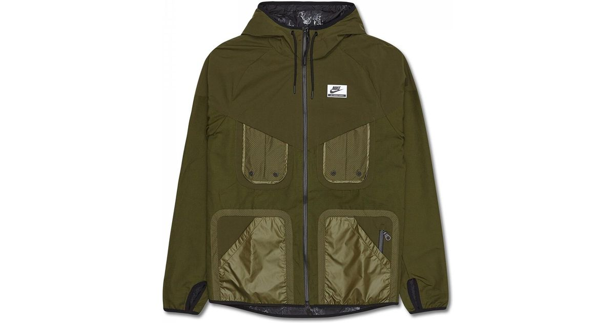 Lyst - Nike International Windrunner Jacket in Green for Men 66fec13540