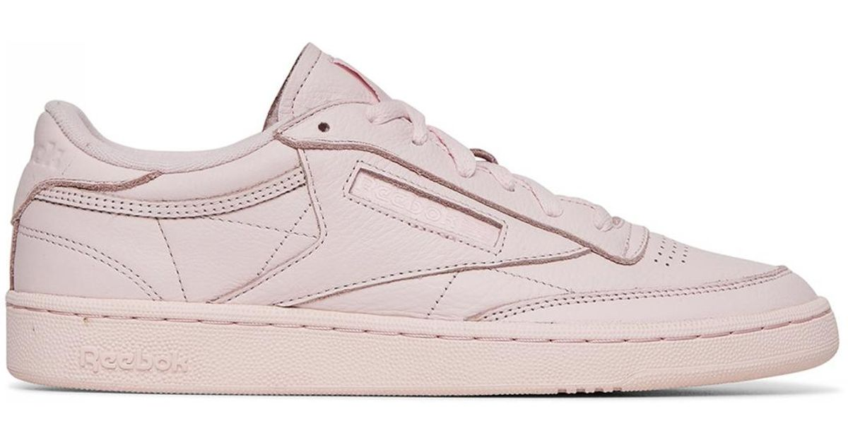 81c65cb1567a Lyst - Reebok Club C 85 Elm Sneakers in Pink