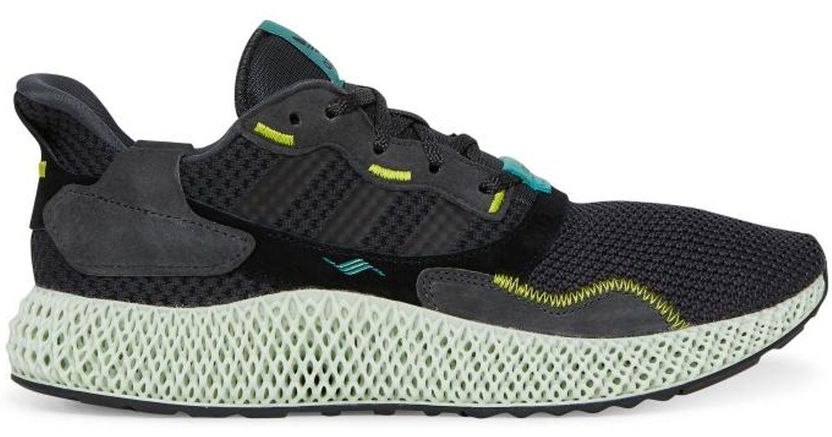 734601e42 Lyst - adidas Originals Zx 4000 4d Sneakers in Black for Men