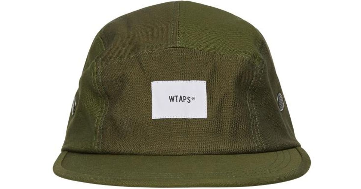 66ee47ba876a Lyst - WTAPS T-5 01 Satin Cap in Green for Men