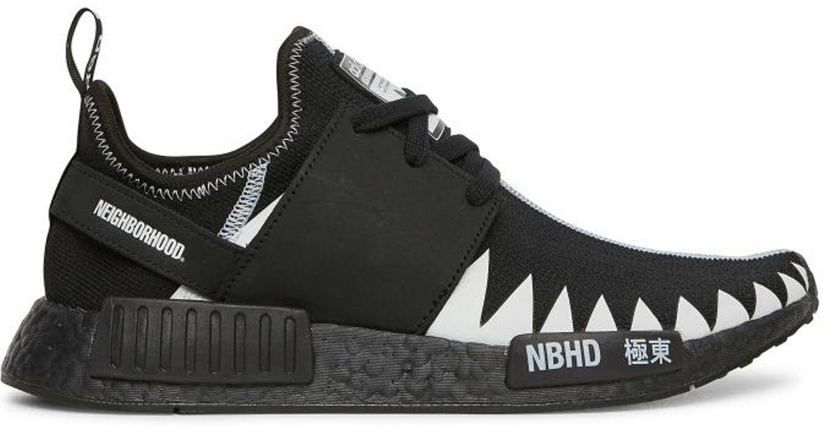 new product 54ff0 4b337 Lyst - adidas Originals Neighborhood Nmd R1 Pk Sneakers in B