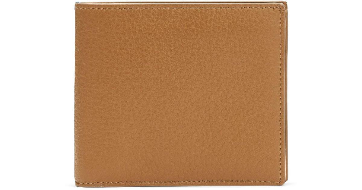 2a58640e Lyst - Smythson Burlington 6 Card Wallet in Yellow for Men