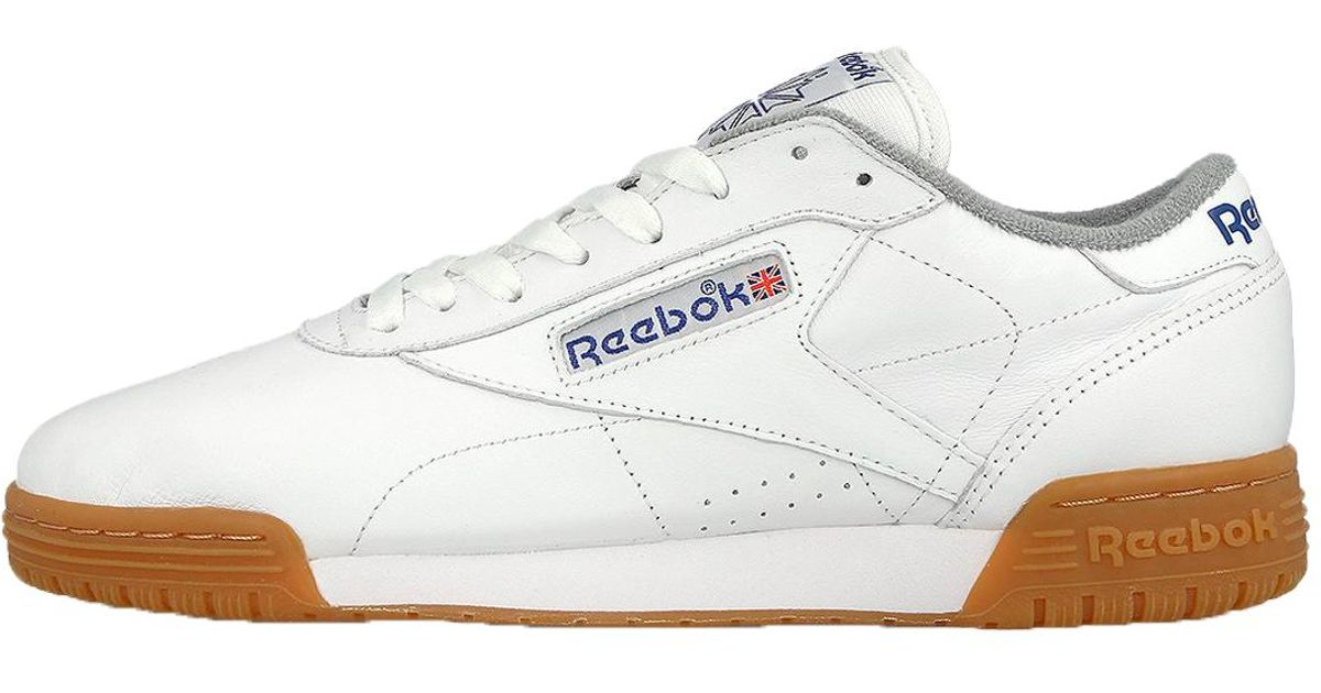 Reebok Exofit Lo Clean Logo R12 Int in White for Men - Lyst 75cfb073e