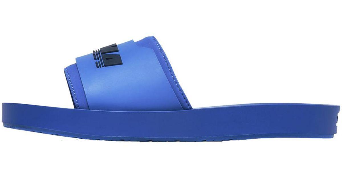 f38e6ad596a474 PUMA Fenty Surf Slide Wns in Blue - Lyst