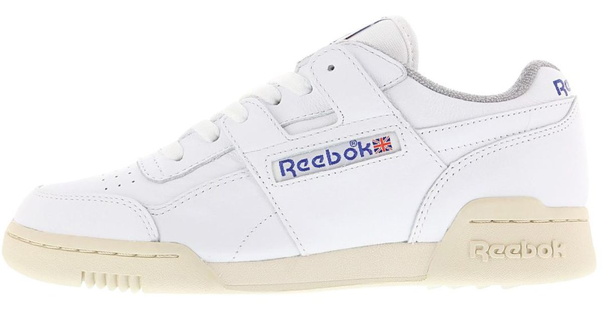 bc79370c50e5ca Reebok Workout Plus R12 in White for Men - Lyst