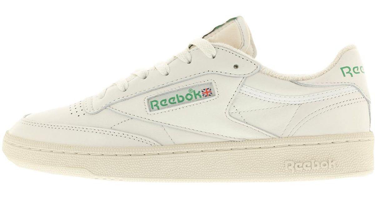 79f2f1b8694d ... amazon lyst reebok club c85 vintage in white for men ac488 e3b58