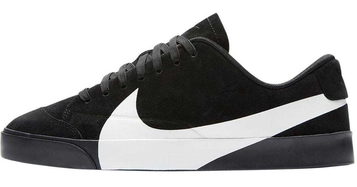 Lyst - Nike Wmns City Blazer Low Lx in Black for Men d48f0fb4f