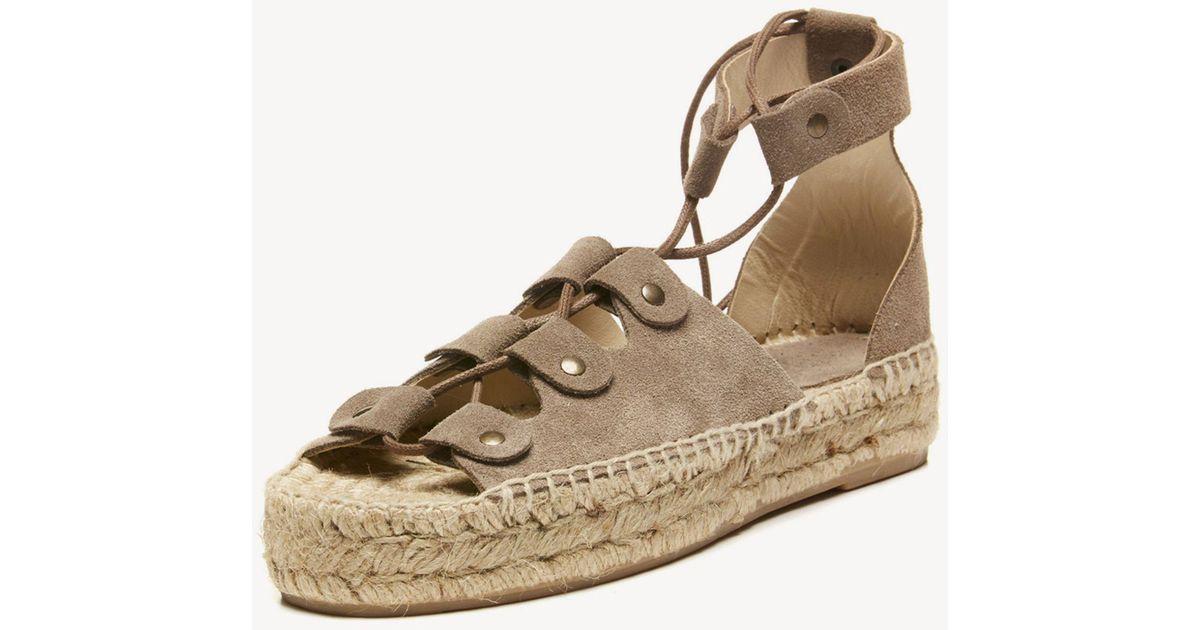 c67503346cf Lyst - Soludos Ghillie Platform Sandal Platform Sandal