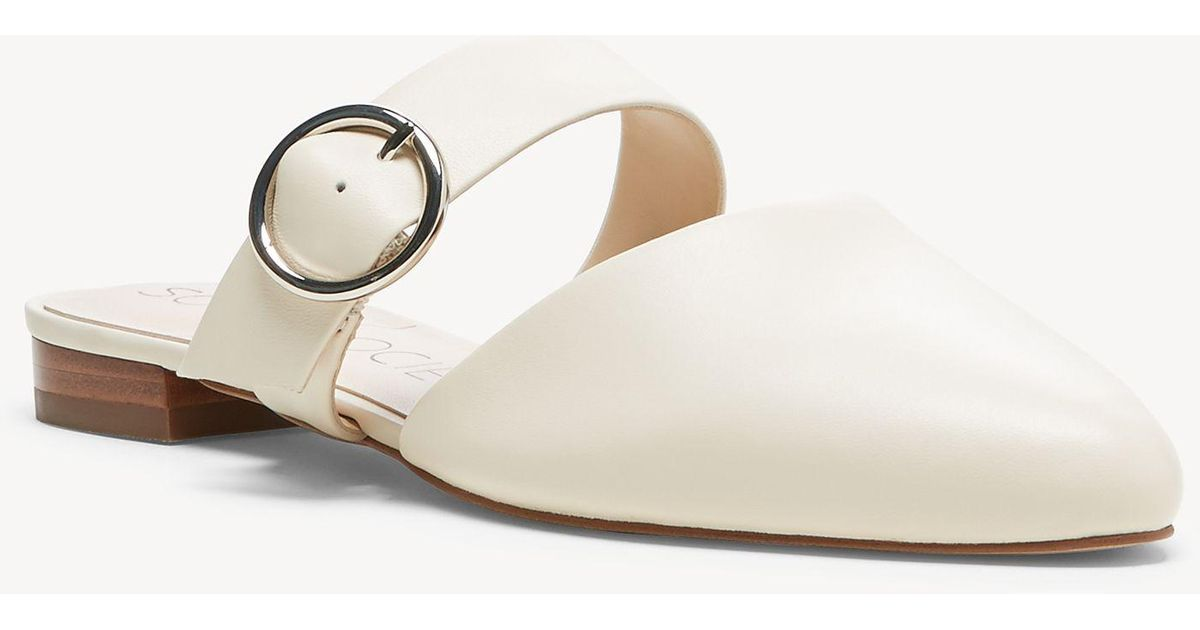 2ee161ecd3458 Lyst - Sole Society Pravar Strappy Pointy Toe Mule in Natural - Save 30%