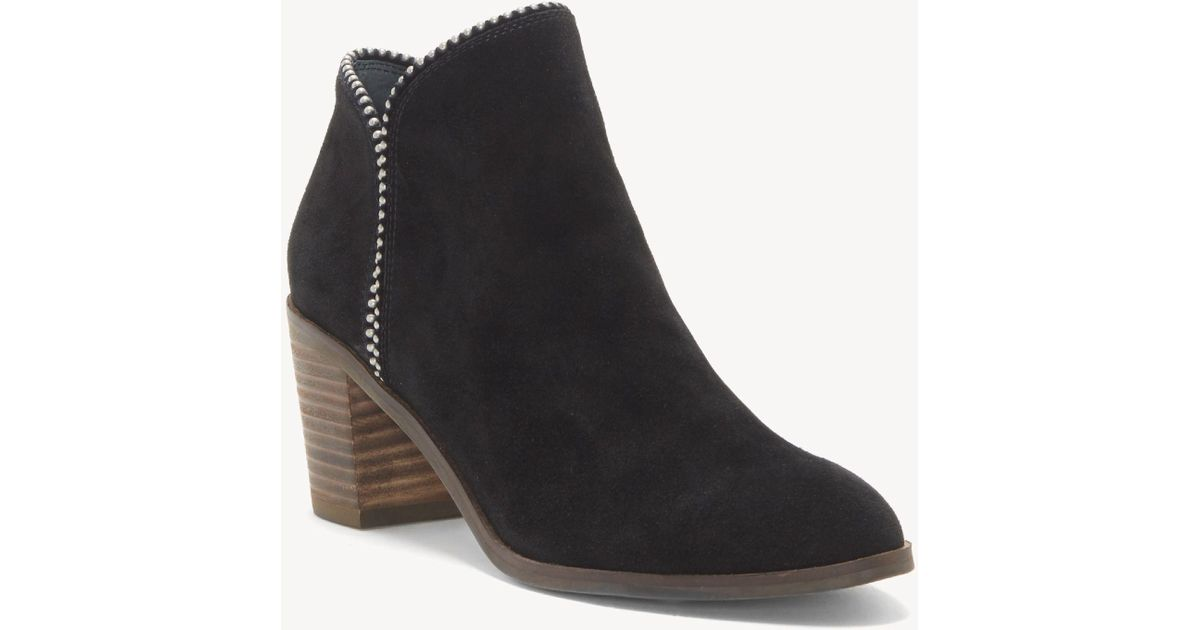 Lucky Brand Women/'s Pincah Ankle-High Leather Boot